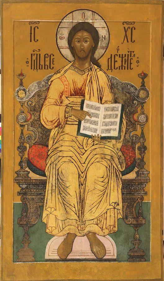 «Спас на престоле», середина XVII века © Ярославский художественный музей