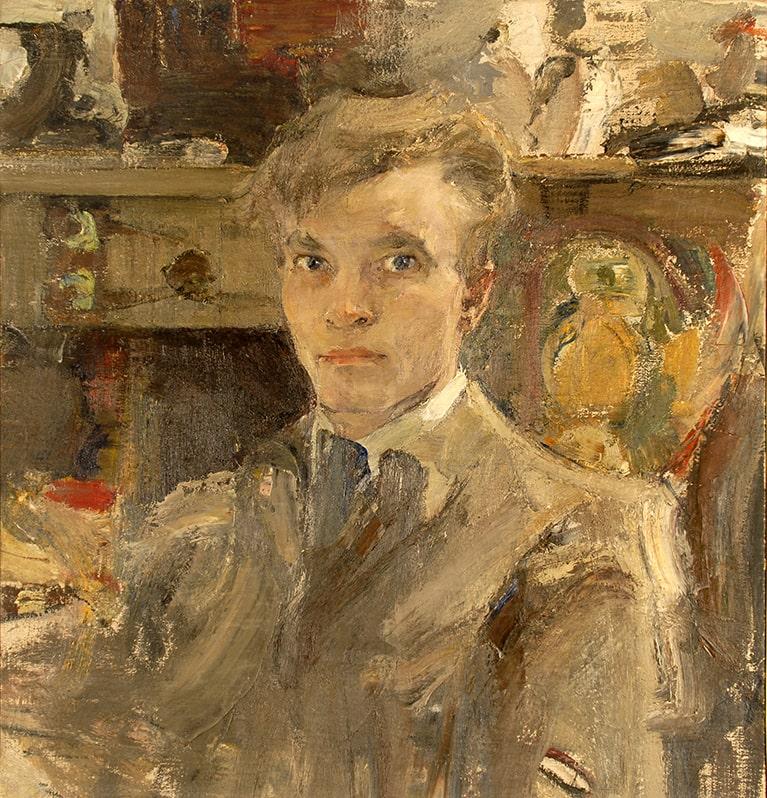Н.И. Фешин «Автопортрет», 1910-е © Государственный музей изобразительных искусств Республики Татарстан