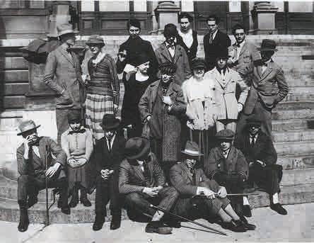 Конгресс конструктивистов и дадаистов. Веймар. 1922.