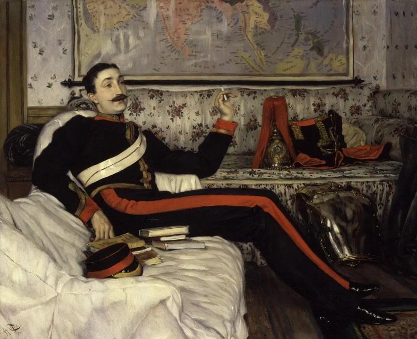 Джеймс Тиссо «Портрет капитана Фредерика Густава Бернаби», 1870 © Национальная портретная галерея Лондон