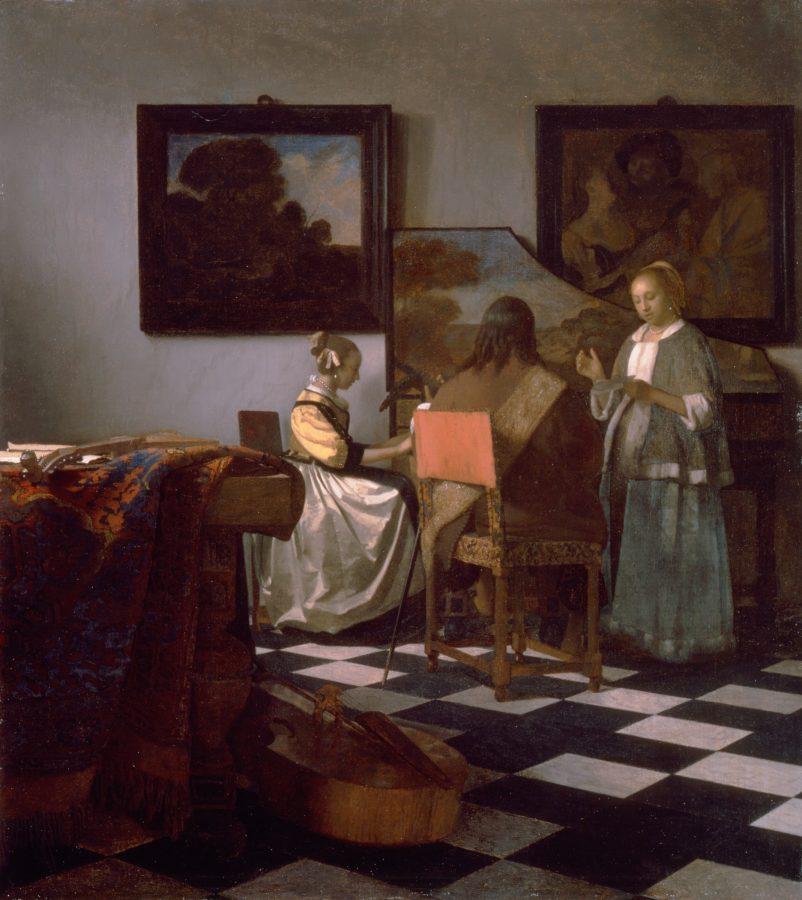 Ян Вермеер «Концерт», между 1663-1666 © wikipedia.org