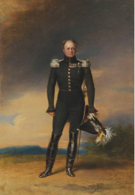 Джордж Доу «Портрет императора Александра I»