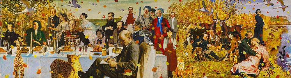 Александр Виноградов, Владимир Дубосарский. Серия «Времена года». 1 часть «Осень», 2007 © Галерея Синара Арт