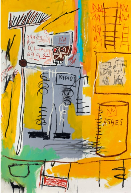 Жан-Мишель Баския «Без названия», 1981 © MET