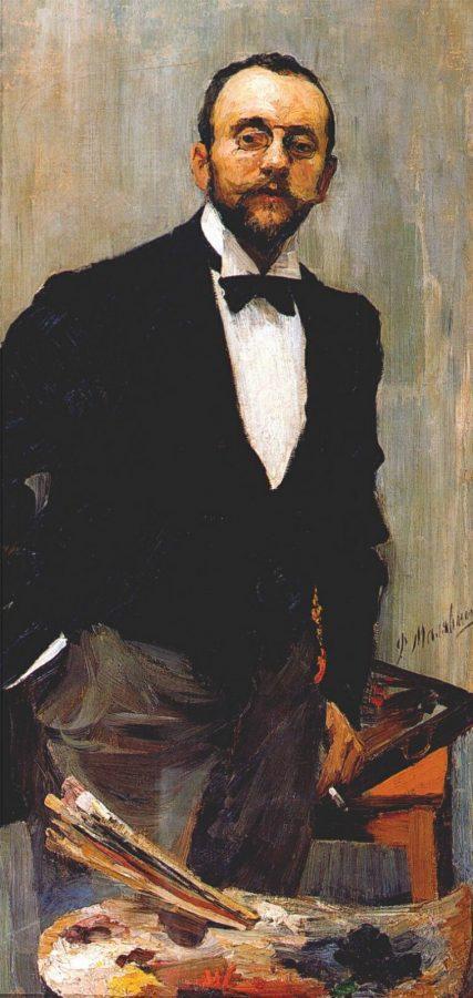 Ф.А. Малявин «Портрет художника И.Э. Грабаря», 1895 © ГРМ