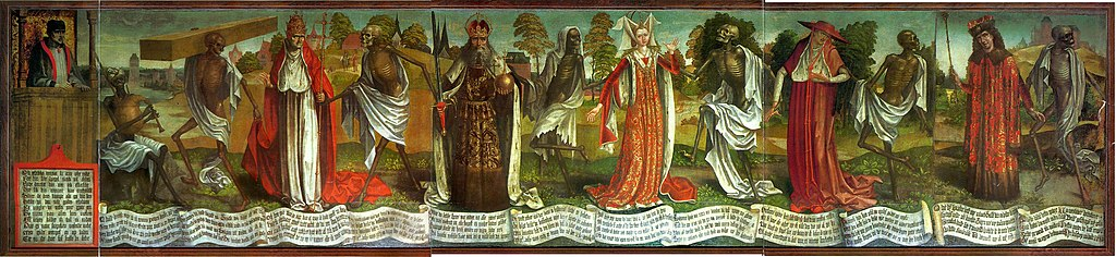 Бернт Нотке «Таллинская пляска смерти», конец XV века