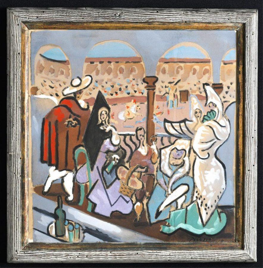 Пабло Пикассо «Треуголка», 1919 © liveauctioneers.com