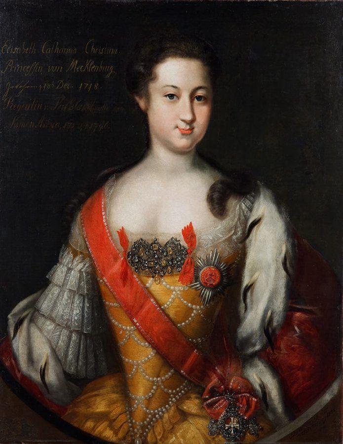 И. Г. Ведекинд «Портрет принцессы Анны Леопольдовны». Россия, Санкт-Петербург, 1732. Холст, масло © ИЗО. ГИМ