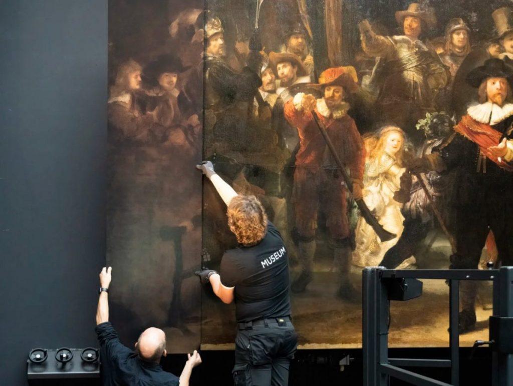 Воссоздание утраченных частей картины с использованием искусственного интеллекта © Rijksmuseum