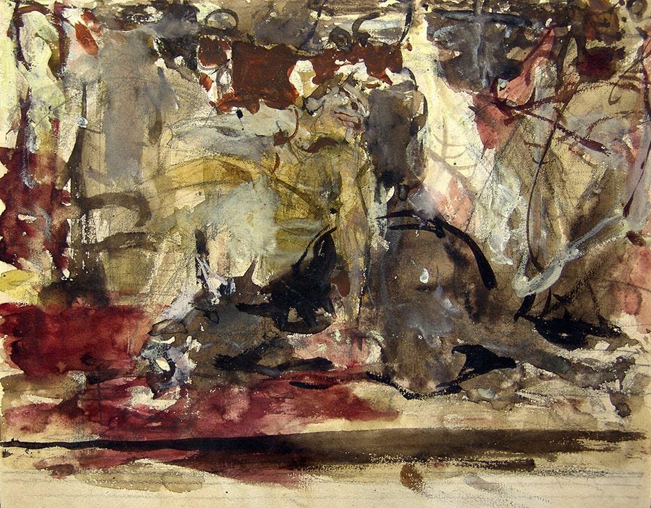 Н.И. Фешин «Бойня», 1911–1916. Эскиз © Государственный музей изобразительных искусств Республики Татарстан