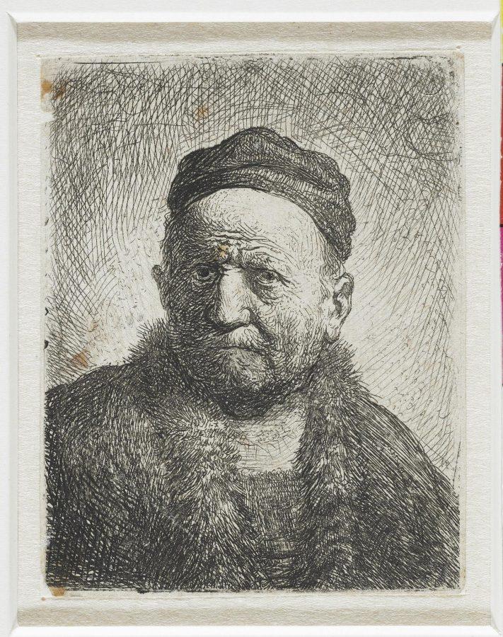 Рембрандт Харменс ван Рейн «Мужчина в ермолке» («Отец художника»?), 1630. Офорт. Национальный музей, Амстердам © Ad Marginem