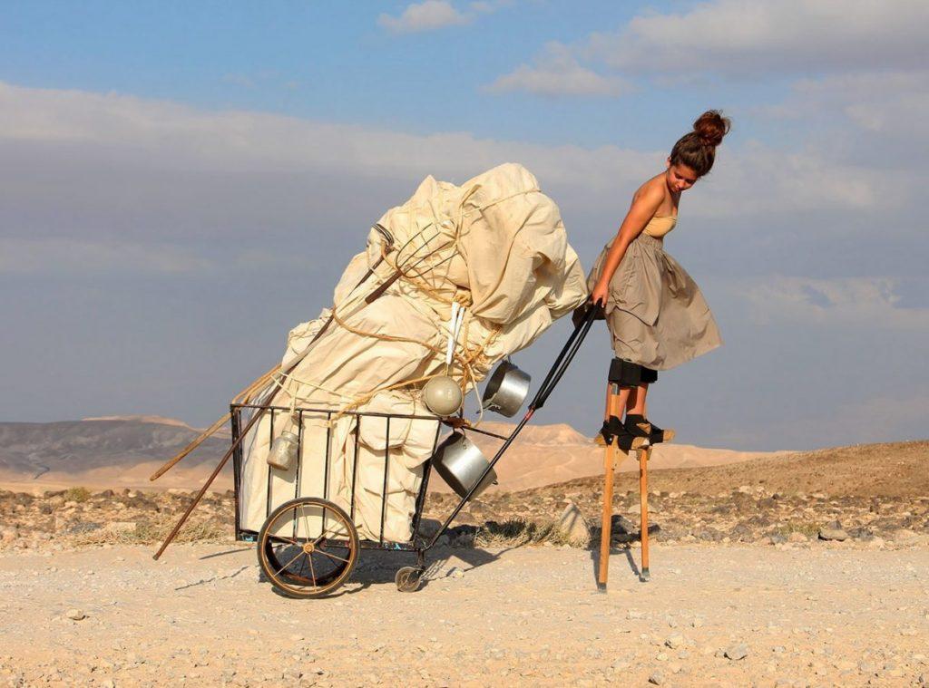 Мейрав Хейман, Айелет Карми (Израиль) «Процессия» © Пресс-служба фестиваля «Сейчас&Потом»
