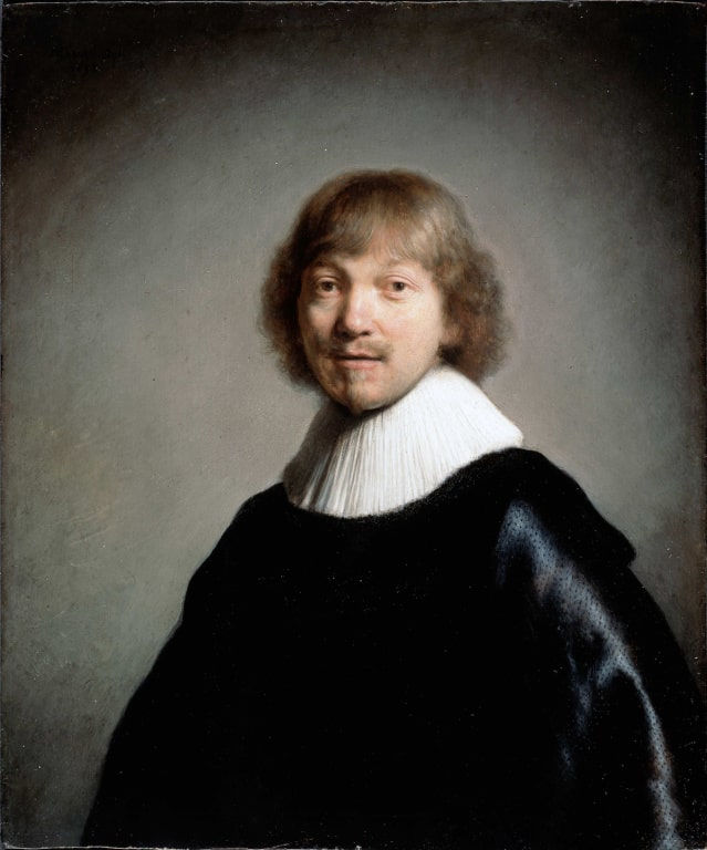 Рембрандт Харменс ван Рейн «Портрет Якоба де Гейна III», 1632 © Google Art Project
