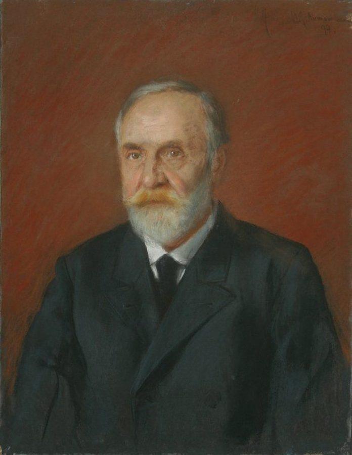 И.И. Левитан «Портрет книготорговца Н.П. Панафидина», 1894