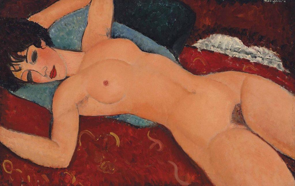 Амедео Модильяни «Лежащая обнаженная», 1917-1918 © Albertina