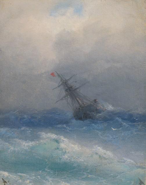 Иван Айвазовский «Кораблекрушение»