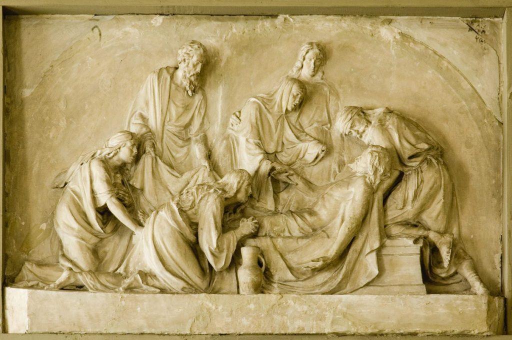3 В. А. Беклемишев «Положение во гроб», 1887. Гипс © НИМ при РАХ