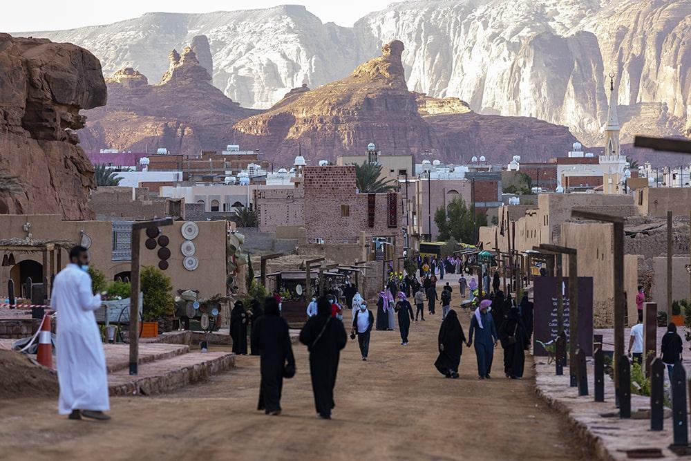 Старый город Аль-Улы © Royal Commission for Al Ula