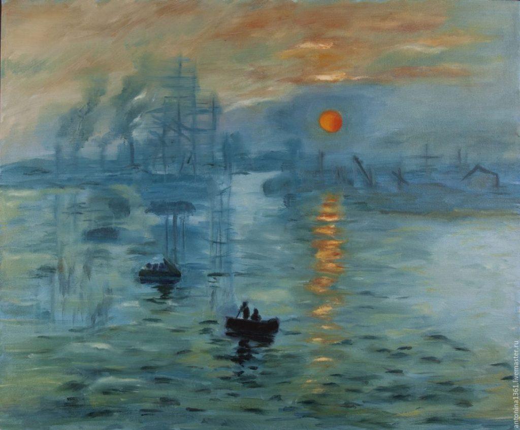 Клод Моне «Впечатление. Восходящее солнце», 1872 © Francois Mori / AP