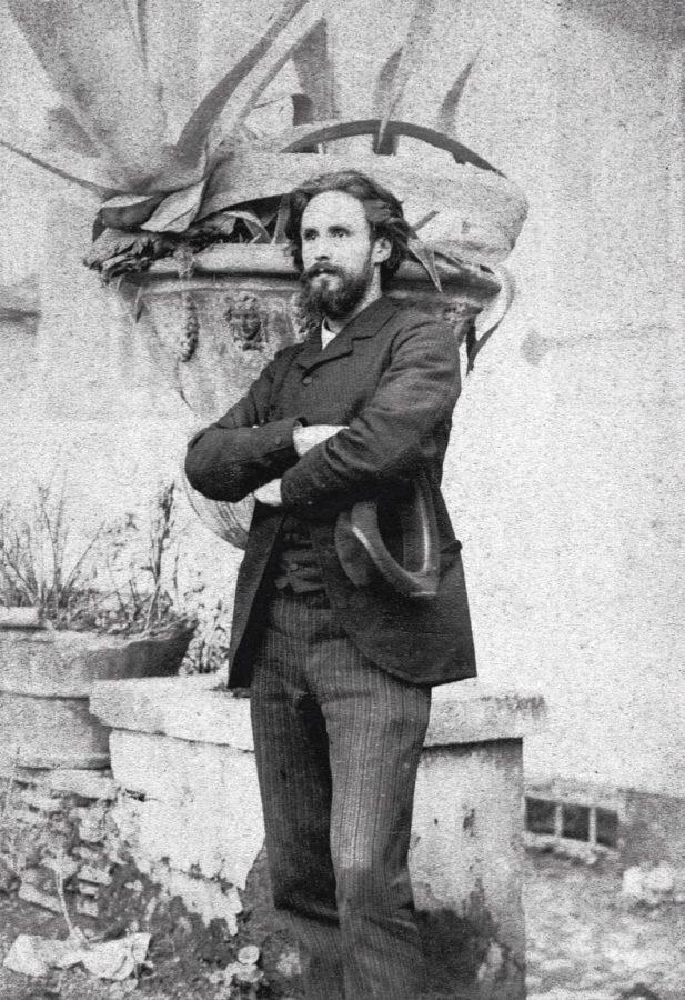 В. А. Беклемишев в Риме. 1890. Архивная фотография © БуксМАрт