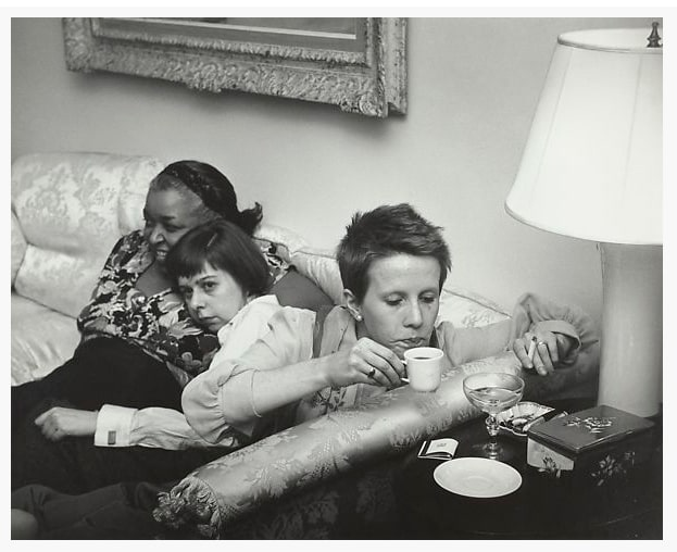 Рут Оркин «Этель Уотерс, Карсон Маккалерс и Джули Харрис на вечеринке по случаю премьеры фильма «The Member of The Wedding», Нью-Йорк, 1950