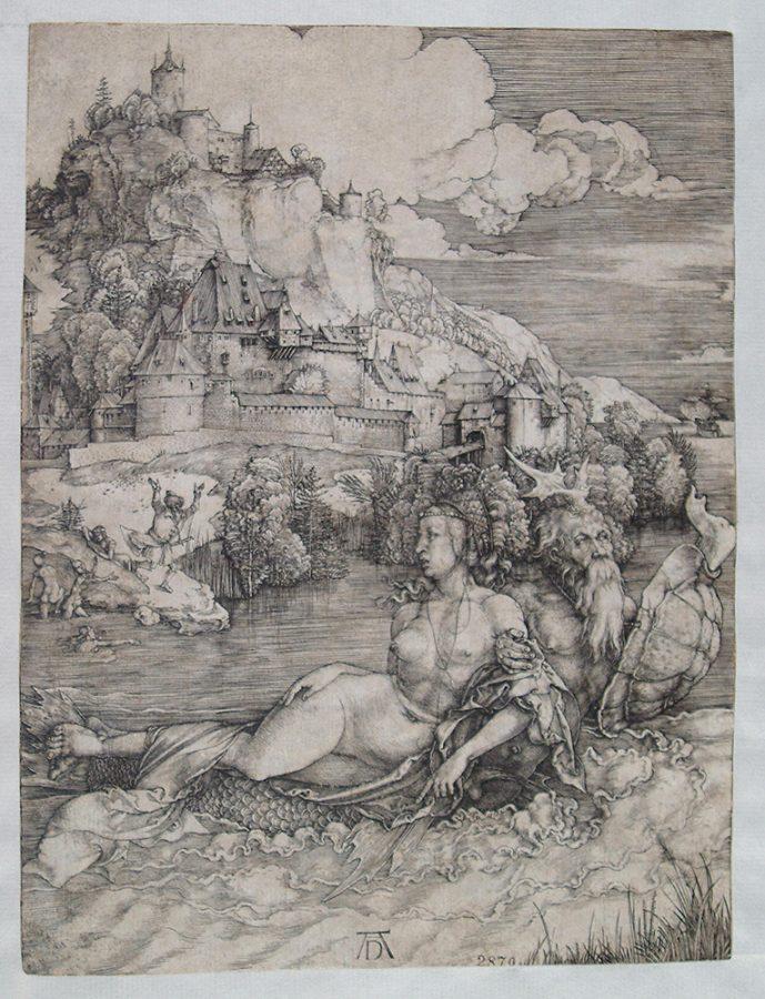 Альбрехт Дюрер «Морское чудовище». Германия, Нюрнберг, 1498 Пинакотека Тозио Мартиненго © ГИМ