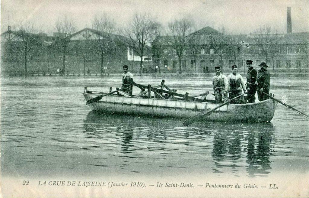 Наводнение в Париже, январь 1910 года