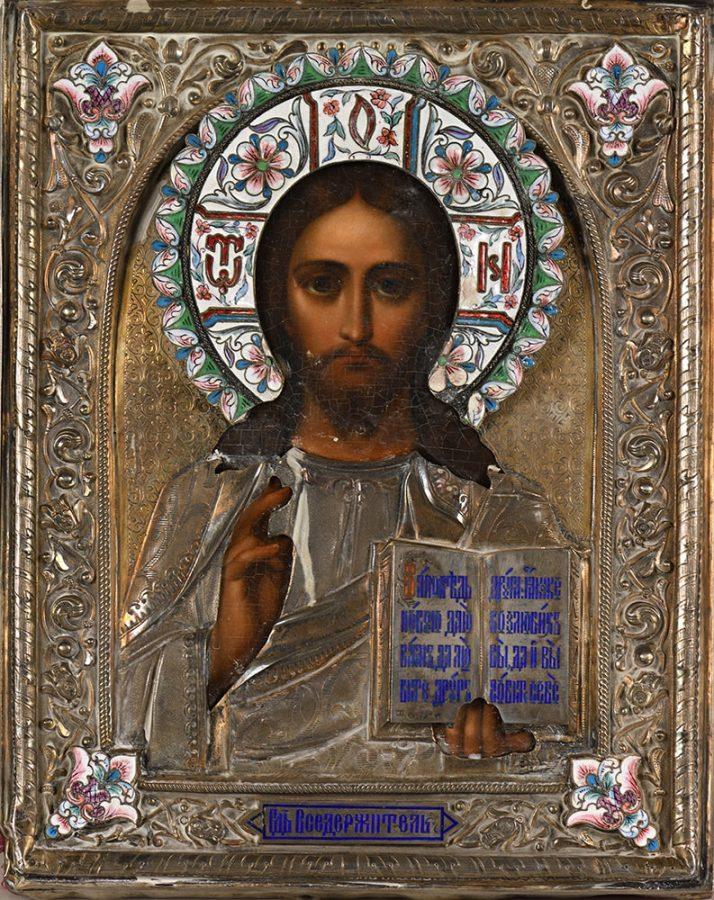 Икона Христа Вседержителя Эстимейт: €1.000-1.500