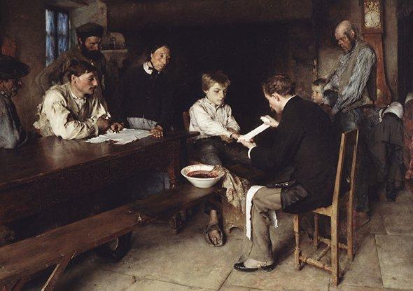 Паскаль Даньян-Бувре «Несчастный случай», 1879 © Художественный музей Уолтерса, Балтимор