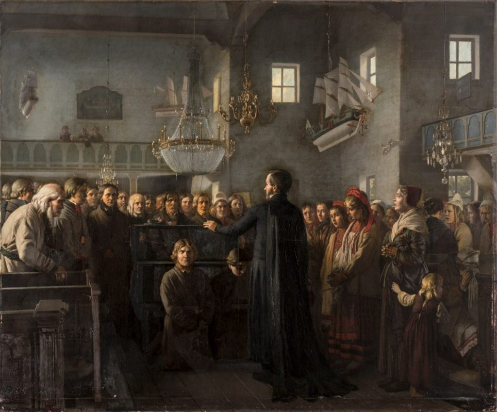 М.П. Клодт «Черная скамья», 1872 © ГРМ