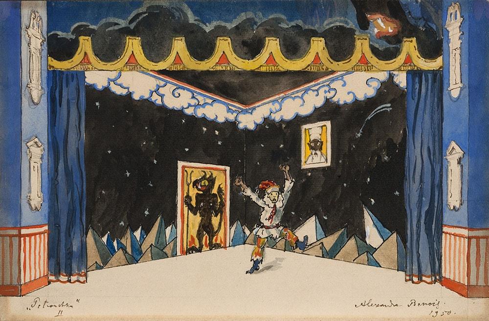 Выставка «Бенуа и его мир искусства»