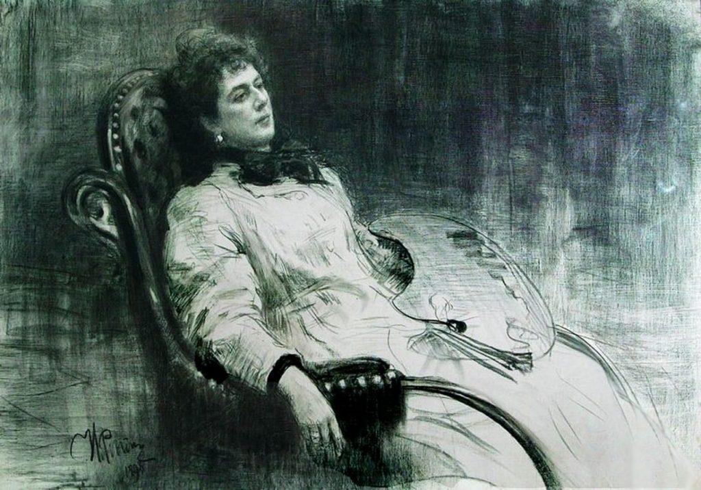 Илья Репин «Портрет М.К. Тенишевой», 1898 © Государственная Третьяковская галерея