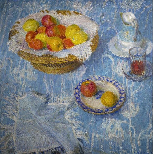 И.Э. Грабарь «Голубая скатерть», 1907 © ГРМ