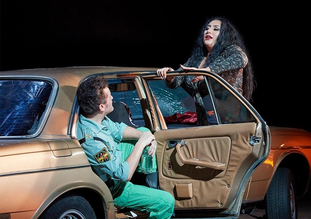 Анита Рачвелишвили и Петр Бечала в опере «Кармен» © Michael Pöhn / Wiener Staatsoper