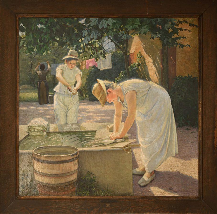 Дмитрий Дмитриевич Кузнецов «Прачки», 1898 Эстимейт: €4.000-6.000