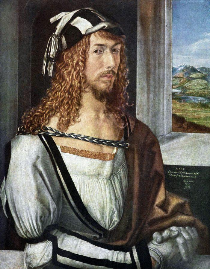 Альбрехт Дюрер «Автопортрет», 1498 © The Yorck Project