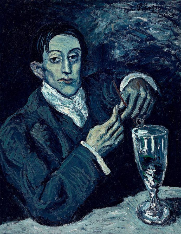 Пабло Пикассо «Портрет Анхеля Фернандеса де Сото», 1903 © Christie's