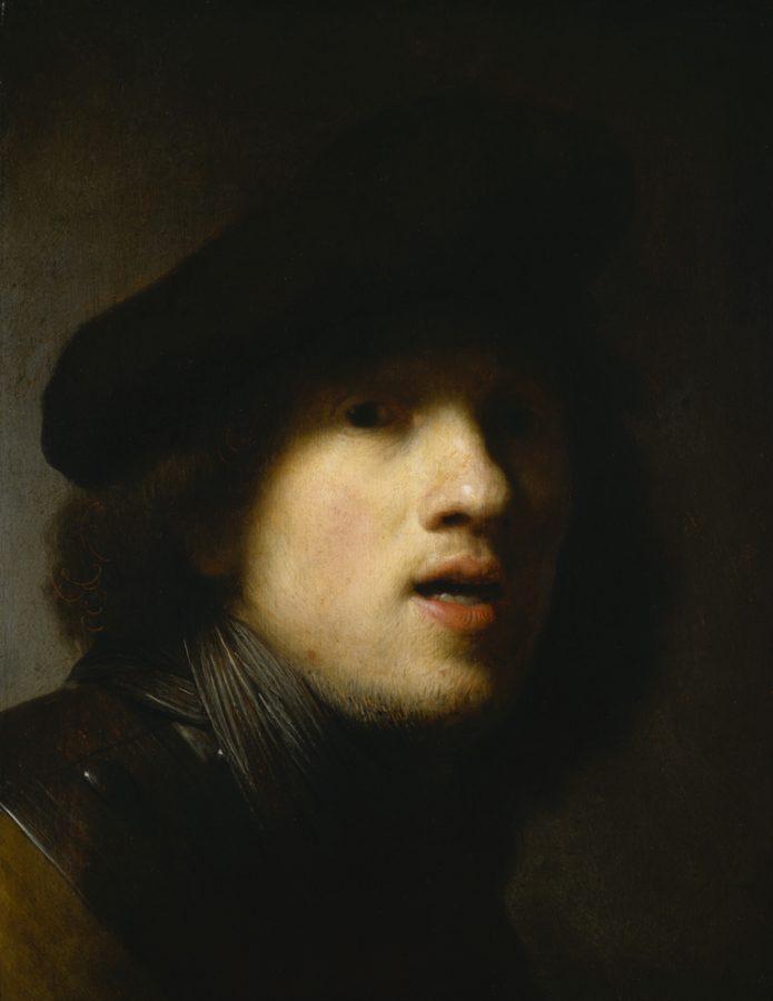 Рембрандт Харменсван Рейн «Автопортрет», 1629 Художественный музей Индианаполиса