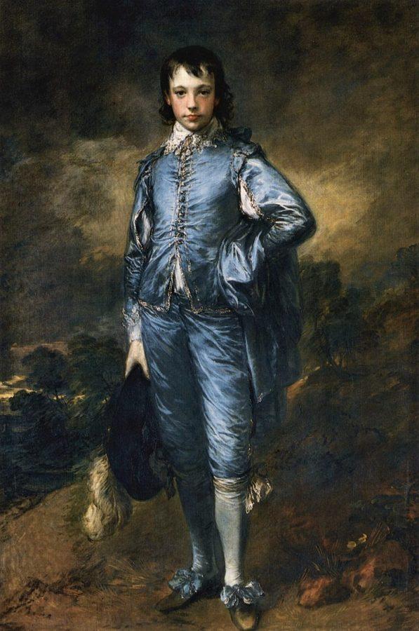 Томас Гейнсборо «Мальчик в голубом», ок. 1770 © The Huntington Library, Art Museum, and Botanical Gardens