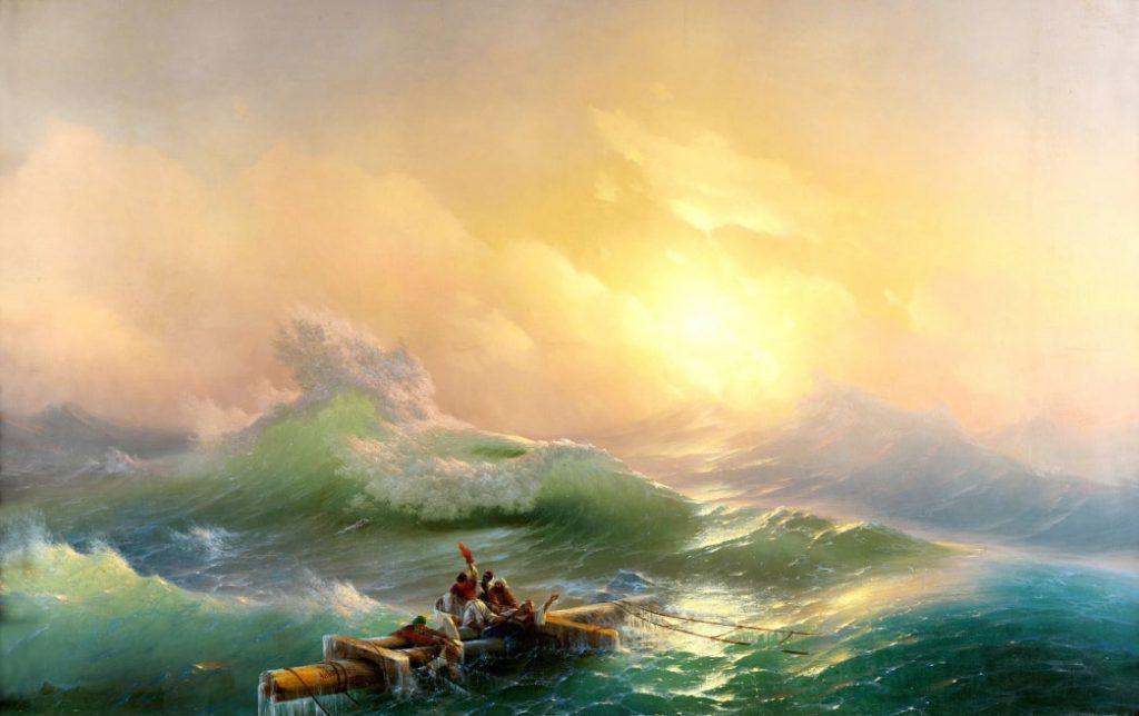 И.К. Айвазовский «Девятый вал», 1850 © ГРМ
