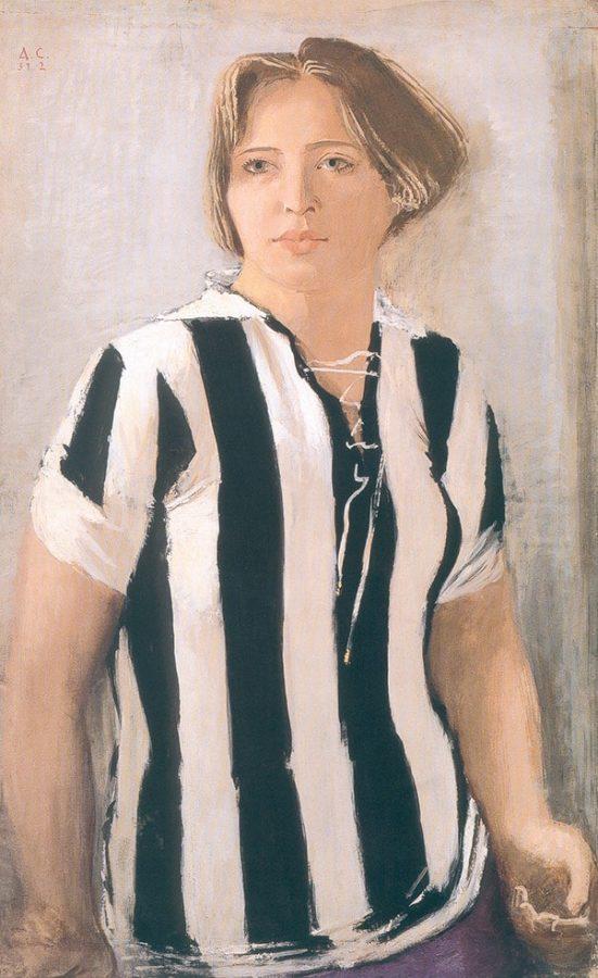 А.Н. Самохвалов «Девушка в футболке», 1931-1932 © ГРМ