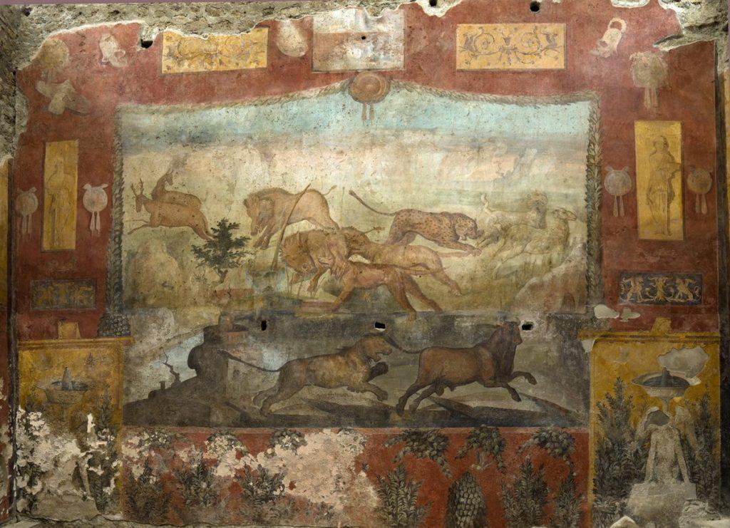 Фреска в саду Casa dei Ceii в Помпеях © POMPEII Sites
