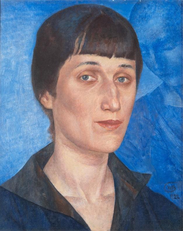 К.С. Петров-Водкин «Портрет А.А. Ахматовой», 1922 © ГРМ