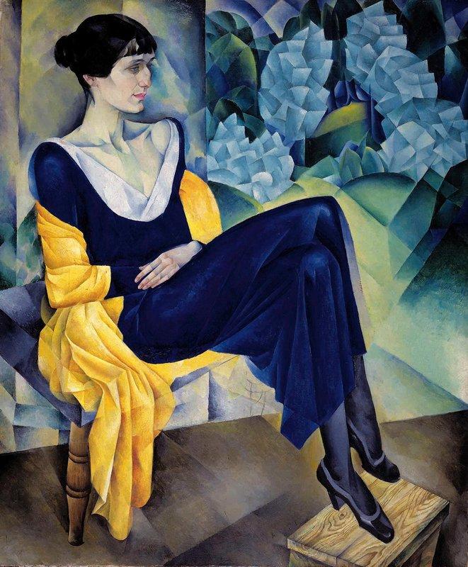 Н.И. Альтман «Портрет А.А. Ахматовой», 1915 © ГРМ