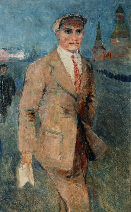 Н.И. Альтман «Маяковский», 1930-е