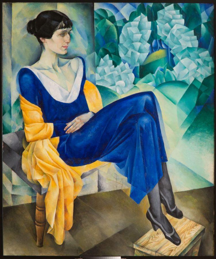 Натан Альтман «Портрет Анны Ахматовой», 1914 © ГРМ
