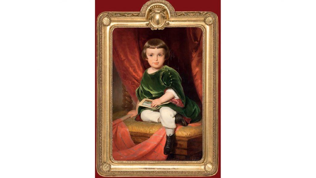Фридрих фон Амерлинг «Портрет графа Николая Дмитриевича Шереметева», 1843 © ГРМ