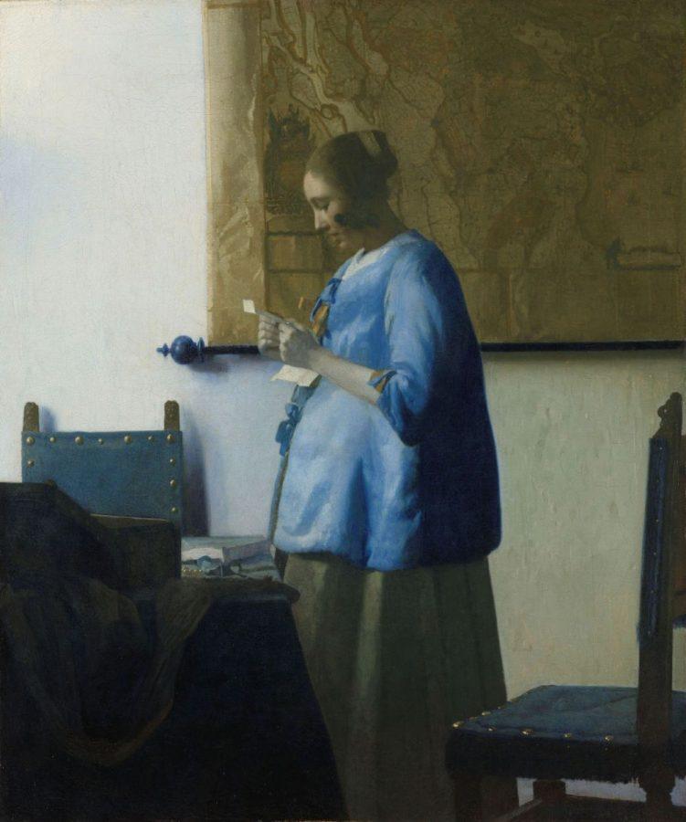 Johannes Vermeer «Briefleserin in Blau», 1663 © Rijksmuseum, Amsterdam