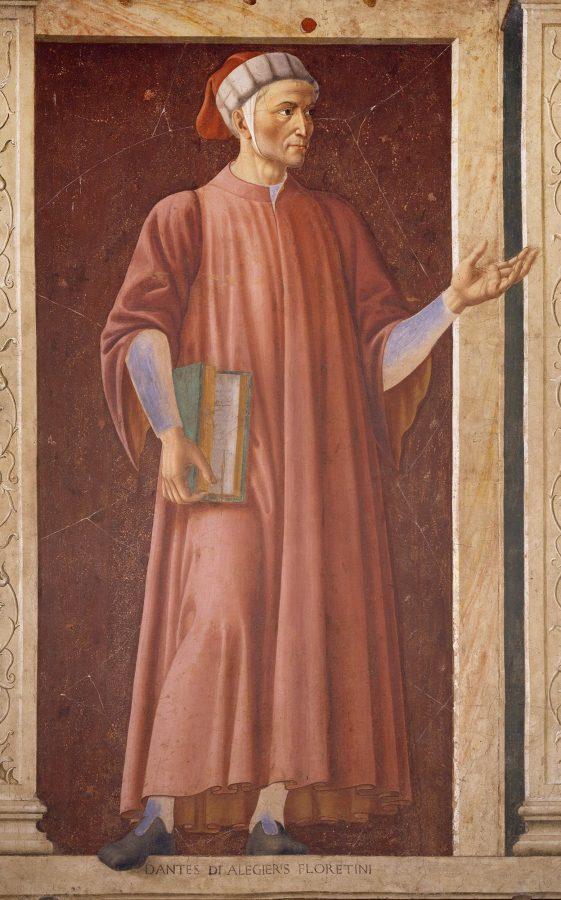 Андреа дель Кастаньо «Данте Алигьери» © Uffizi