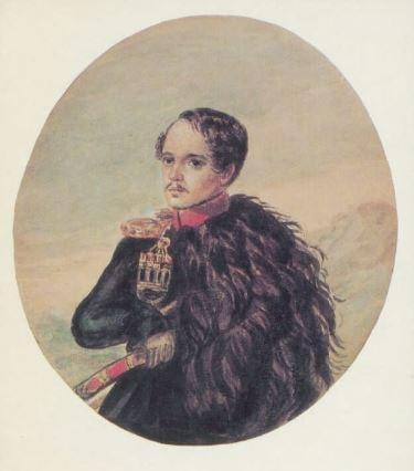 М.Ю. Лермонтов «Автопортрет», 1837-1838 © prlib.ru